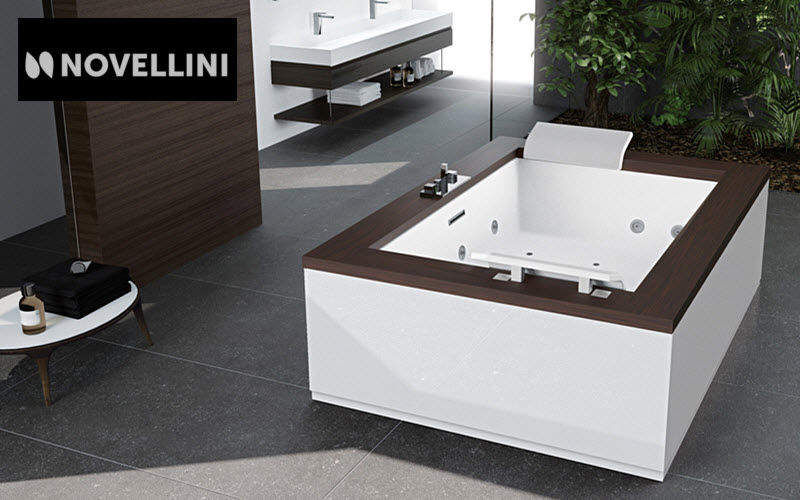 Novellini Two seater bath Bathtubs Bathroom Accessories and Fixtures  |