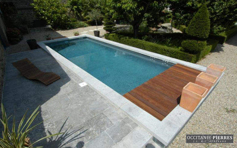 Occitanie Pierres Pool border tile Kerbs and borders Swimming pools and Spa  |