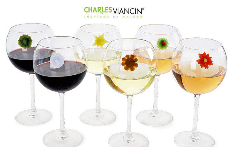 CHARLES VIANCIN Wine glass marker Labels and brands Tabletop accessories   