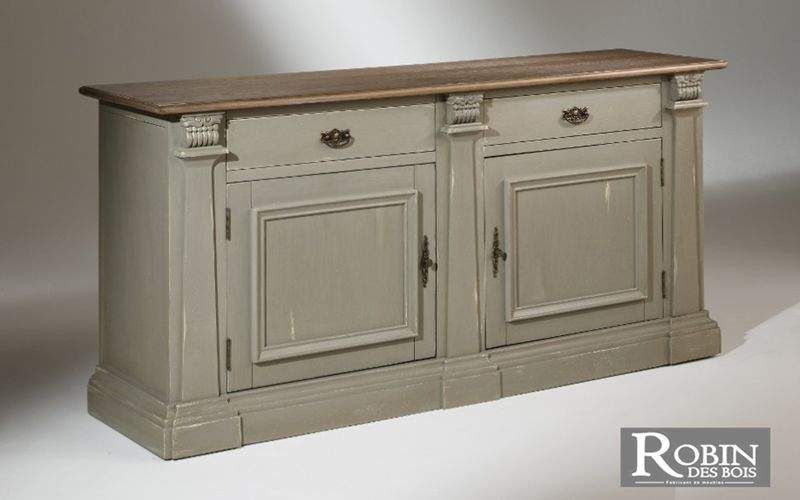 robin des bois Low Chest Cabinets and Buffets Storage Dining room | Cottage