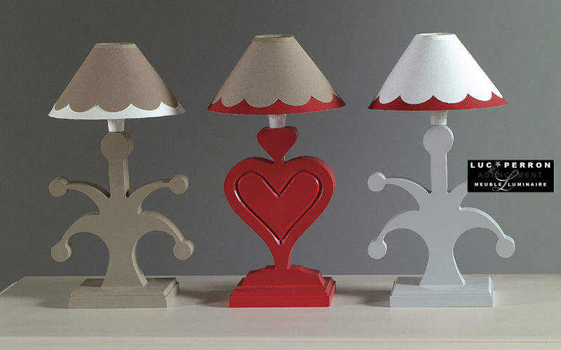 Luc Perron Children's table lamp Children's lighting Children's corner  |