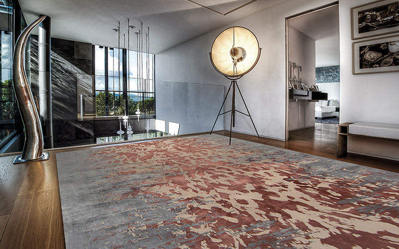 EDITION BOUGAINVILLE Modern rug Modern carpets Carpets Rugs Tapestries  |