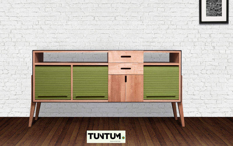 TUNTUM Low Chest Cabinets and Buffets Storage  |