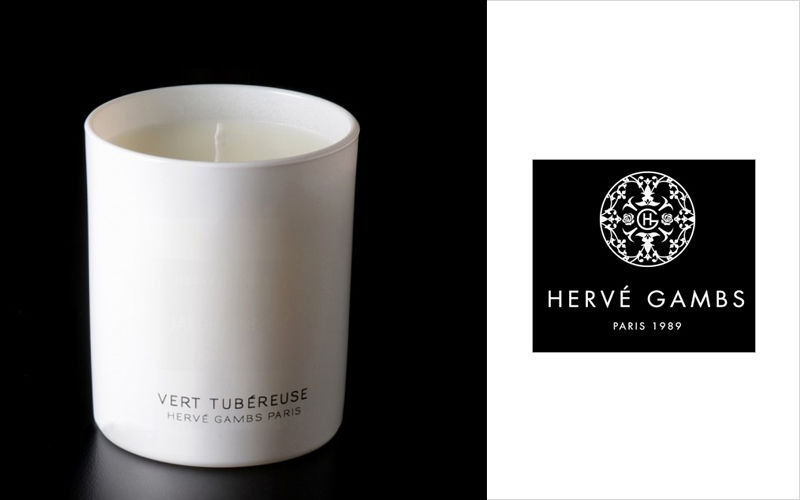 HERVÉ GAMBS Scented candle Scents Flowers and Fragrances  |