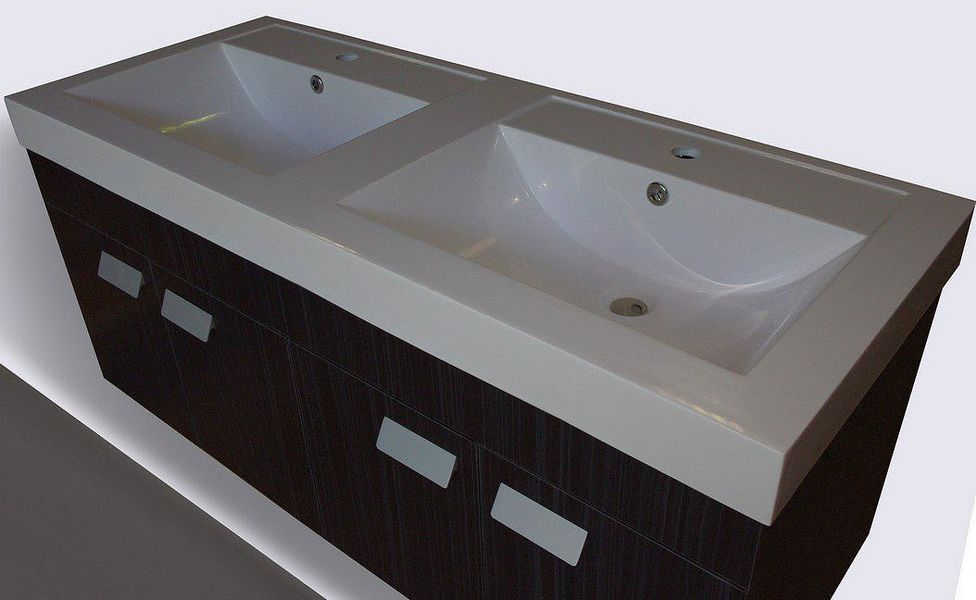 UsiRama.com Double basin unit Bathroom furniture Bathroom Accessories and Fixtures  |