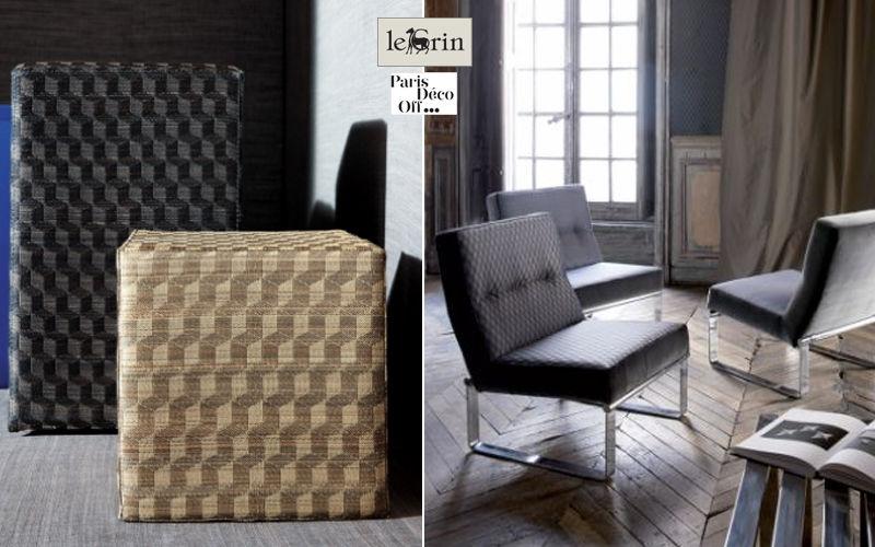 Le Crin Jacquard Furnishing fabrics Curtains Fabrics Trimmings  |