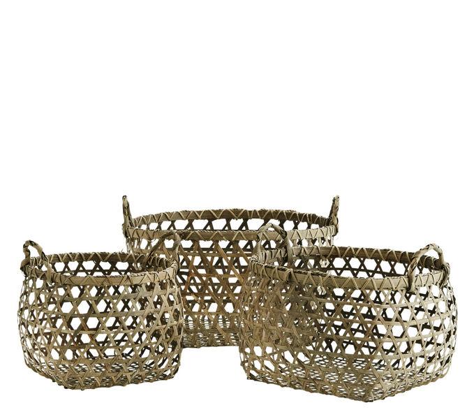 MADAM STOLTZ Storage basket Hooks Kitchen Accessories  |