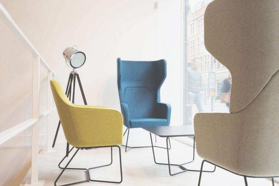 Four Design Armchair with headrest Armchairs Seats & Sofas  |