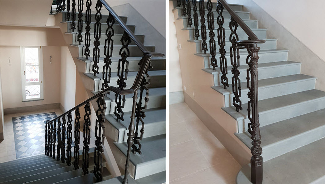 FONDERIA INNOCENTI Banister Stairs and ladders House Equipment  |