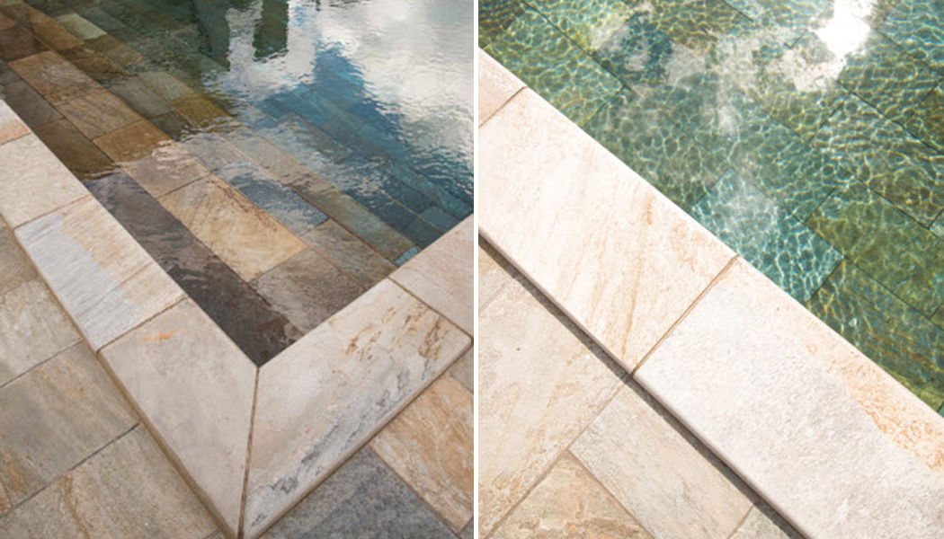 ARTECTA by International Slate Company Pool border tile Kerbs and borders Swimming pools and Spa Garden-Pool | Classic