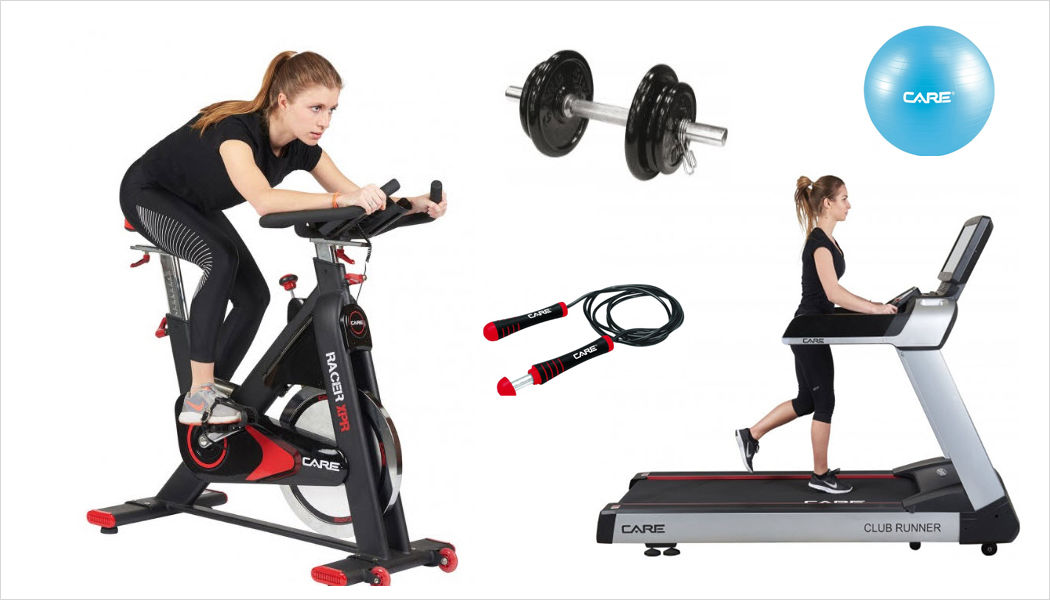 CARE FITNEss Treadmill Various Fitness equipment Fitness Bedroom | Design Contemporary