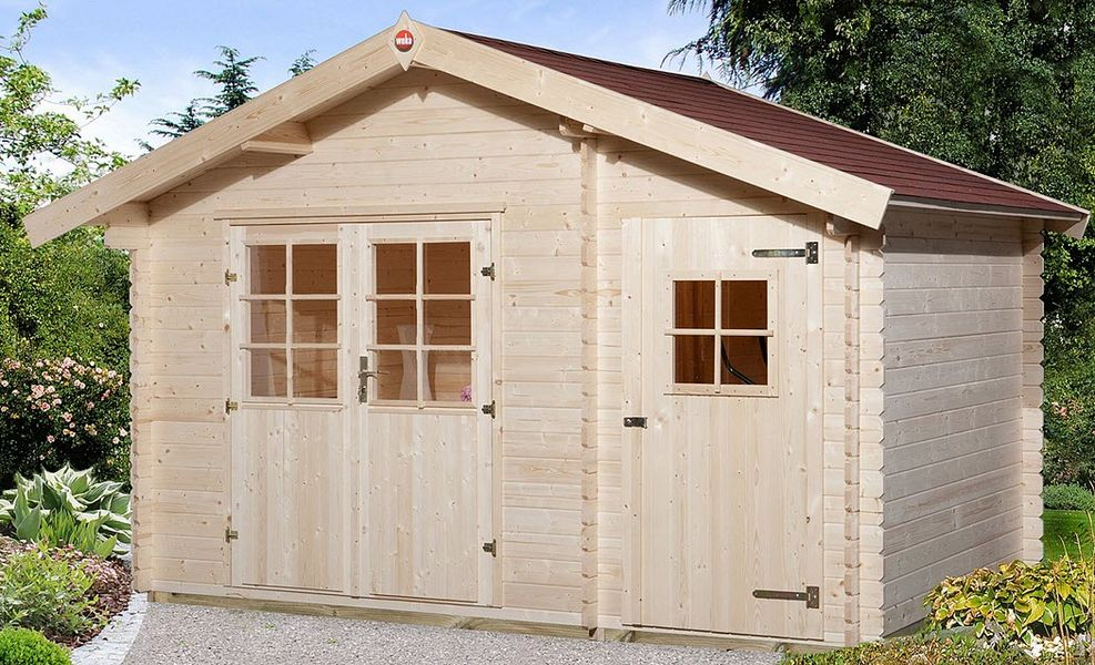 WEKA Wood garden shed Shelters and summer houses Garden Gazebos Gates...  |