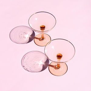 &klevering - champagne coupe gold - Champagne Glass