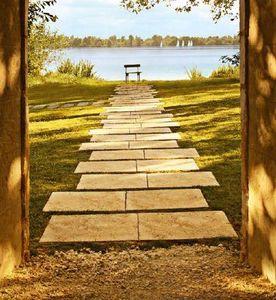 Japanese paving stone