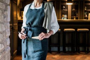 Couleur Chanvre Kitchen apron