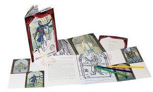 Boutique De La Comedie Francaise Colouring book