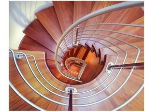 Twin staircases