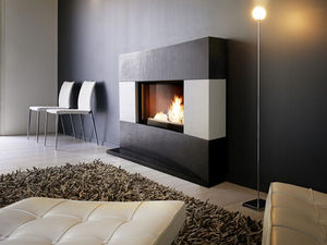 Closed fireplace