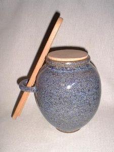 Poterie D'art Coffignal Gherkin jar