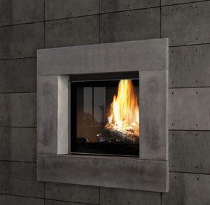 Closed fireplace-Seguin Duteriez-Antao