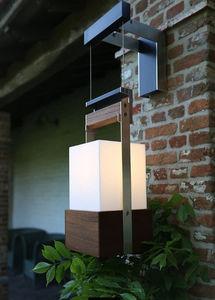 Outside wall lamp fittings