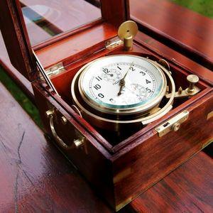 La Timonerie Antiquités marine -  - Chronometer
