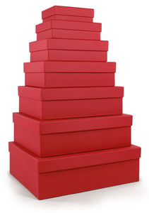 RÖSSLER PAPIER - rot / diverse größen - Storage Box