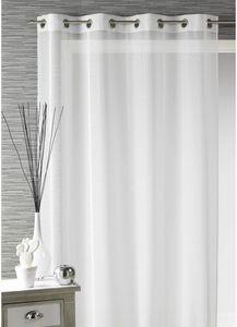 HOMEMAISON.COM - voilage fantaisie tissé fines rayures verticales - Net Curtain