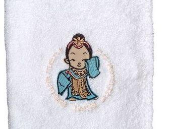 SIRETEX - SENSEI - gant 16x22cm brodé 500gr/m² geisha - Bath Glove
