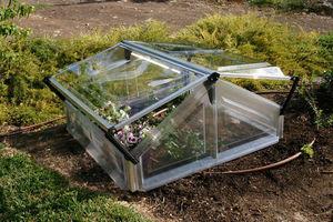 Chalet & Jardin - châssis 1,1m² en polycarbonate et résine 105x108x5 - Cold Frame