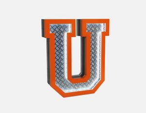 DELIGHTFULL - u - Decorative Number
