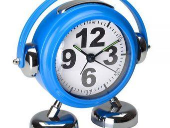 La Chaise Longue - réveil little dj bleu - Alarm Clock