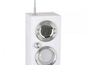 La Chaise Longue - radio réveil koby blanc - Alarm Clock