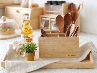 Acacia -  - Kitchen Utensil Holder