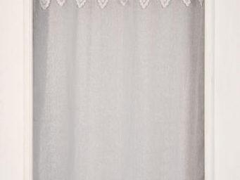 Coquecigrues - paire de rideaux nouveau l�gende dentelle blanc - Ready To Hang Curtain