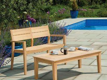 Alexander Rose - )--timber - Garden Bench