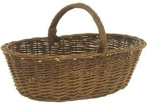 Aubry-Gaspard - panier à champignons en osier brut - Basket