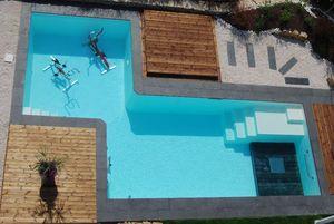 ODALIA -  - Polyester Pool