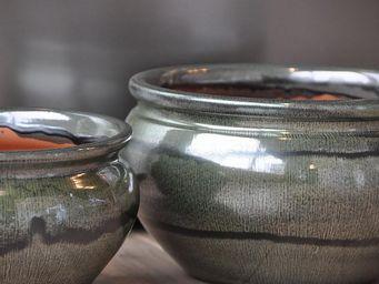 Les Poteries Clair de Terre - boule lisse - Flower Pot