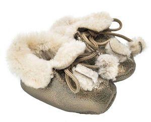 BABBI - bottine mosaic silver - Children's Slippers