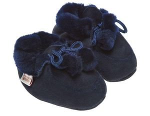 BABBI - bottine navy- - Children's Slippers