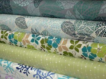 FLEUR DE SOLEIL -  - Coated Tablecloth