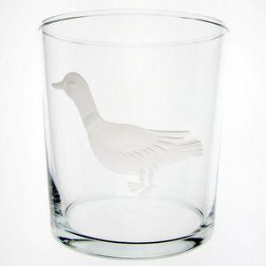 Au Bain Marie - verre droit haut canard - Glass
