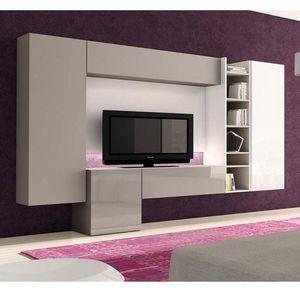 Antaix - meuble tv led - Media Unit
