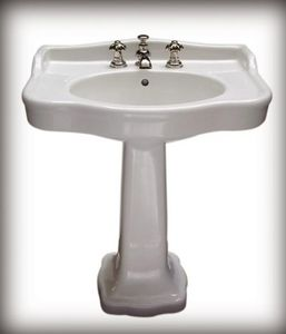 A l'epi D'or - palladio - Pedestal Washbasin