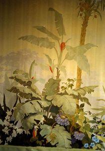 Atelier Follaco - décor peint style zuber - Wall Decoration