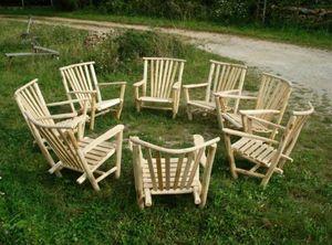 ALAIN DUPASQUIER -  - Garden Armchair