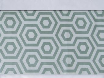 BAILET - ornement graphique - symphonie - 240x37 cm - vert  - Bed Linen Set