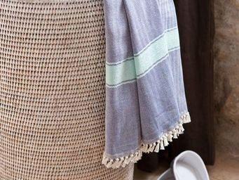 BaolgiChic - rotin blanc - Laundry Hamper