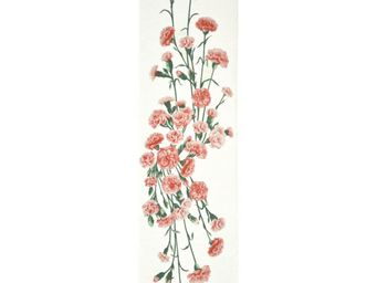 Art De Lys - oillets fond blanc - Dining Table Runner